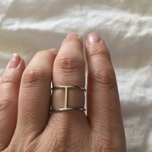 Anthropologie Silver Ring